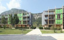 Il quartiere delle Albere a Trento: uccide due figli a martellate poi si suicida